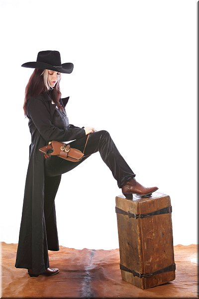Cowgirl Hudson black outfit AD-3-10_209