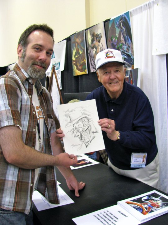 pittsburgh comic con Dave-surprise-Joe3 Sinnott