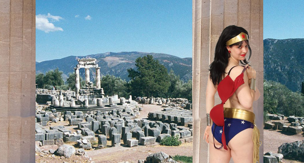 Delphi Wonder Woman by Simon Peters