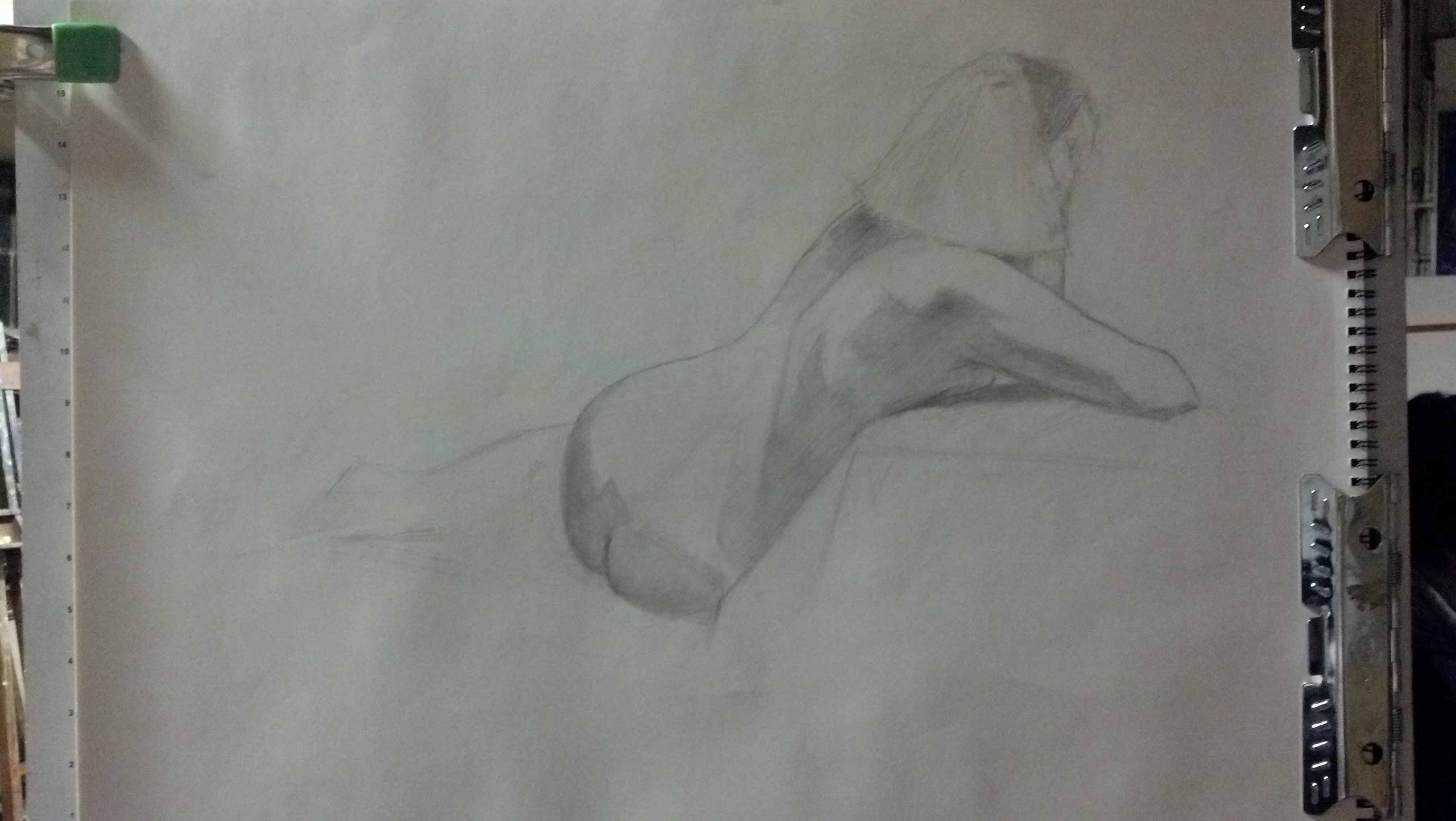 2013 Winter Modeling Amber Love Figure Drawing