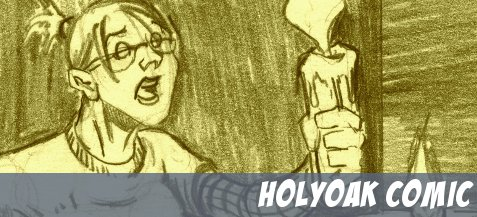 HOLYOAK the comic available