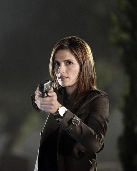 Who Is The Actress That Plays Detective Beckett On Castle