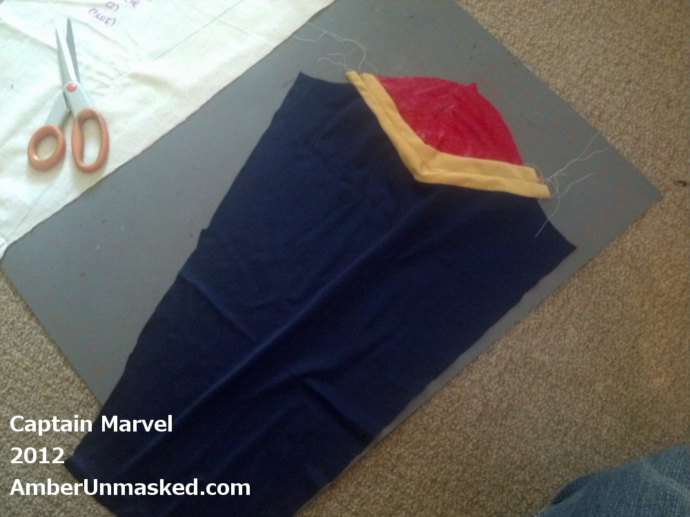 Tutorial Captain Marvel Costume Marvel Amber Unmasked Anyway, the second virtual cosplay of captain. amber unmasked
