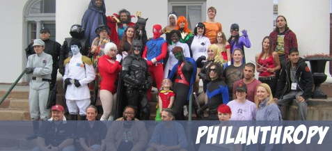 Thank you for another great Superhero Weekend! 2012 recap