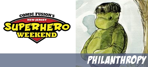 What's new for the 2013 Superhero Weekend Charity Auction at Comic Fusion?