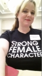 amber strong female character shirt mwa philly