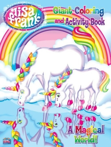 lisafrank coloring book cover
