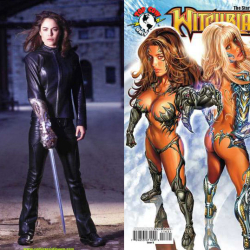 WITCHBLADE TV SHOW VS. COMIC OUTFITS