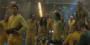 Guardians-Of-The-Galaxy-Peter-Quill-Gamora-Rocket-enter-Kyln-Prison