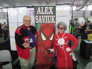 NYCC 2014 DAY 4 (14) madame web alex saviuk