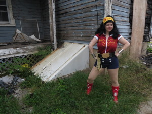 Wonder Woman Bombshell by Amber Love