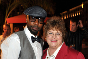 Getty Images: Nelsan Ellis & Charlaine Harris