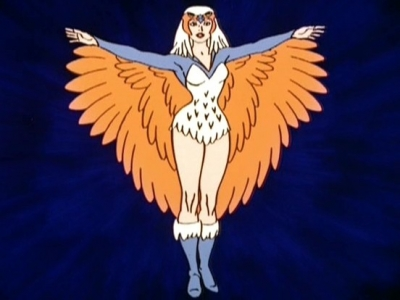THE SORCERESS FROM MASTERS OF THE UNIVERSE