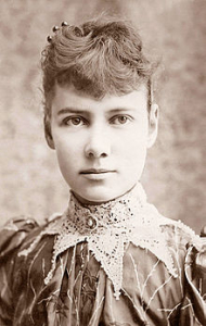NELLIE BLY, JOURNALIST, WENT UNDERCOVER AS A  PATIENT TO INVESTIGATE ASYLUMS.