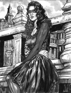 MORRIGAN BY RYAN KELLY http://funrama.tumblr.com/post/107236070269/the-morrigan-from-the-wicked-and-the-divine-ink