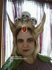 cosplay planet gigantic queen neva helmet