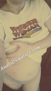 2015-08-10 wm amber wonder woman shirt