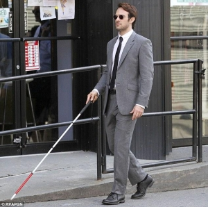 NETFLIX VERSION OF THE BLIND SUPERHERO MATT MURDOCK
