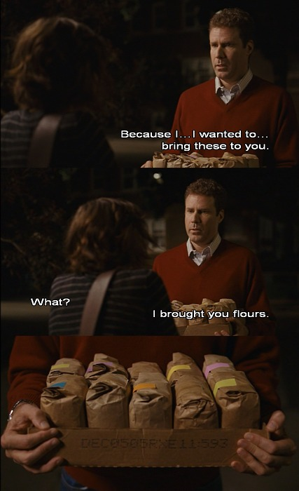 Stranger Than Fiction flours