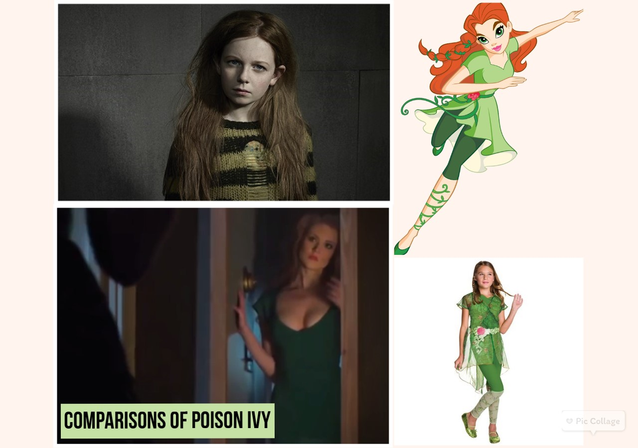 poison ivy collage
