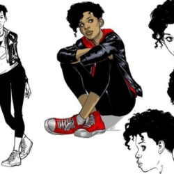 Riri Williams sketches