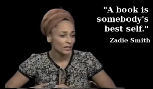 zadie smith writing quote