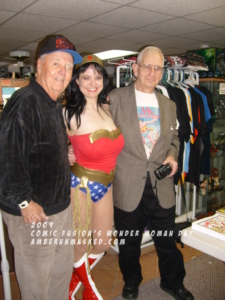 Amber Love, Joe Sinnott, Pete Marston