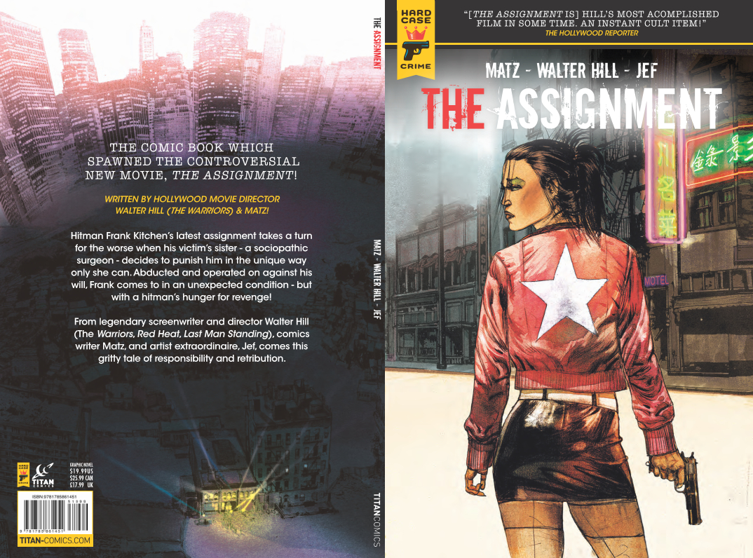 The Assignment Hard Case Crimes Titan cover