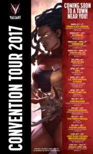Valiant Comics Convention Tour