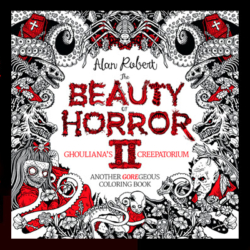 Beauty of Horror II coloring book