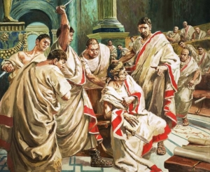 The death of Julius Caesar by C.L. Doughty