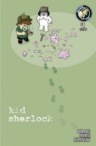 Kid Sherlock 1 cover B