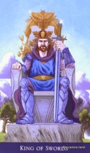 King of Swords llewellyns classic tarot