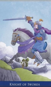 Knight of Swords llewellyns-classic-tarot