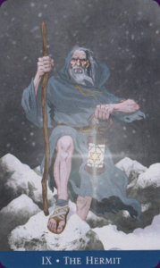 The Hermit llewellyns classic tarot