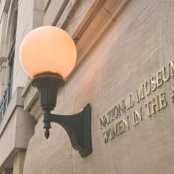 National Museum of Women in the Arts building sign