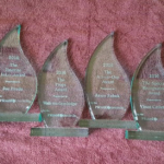 Inkwell award trophies