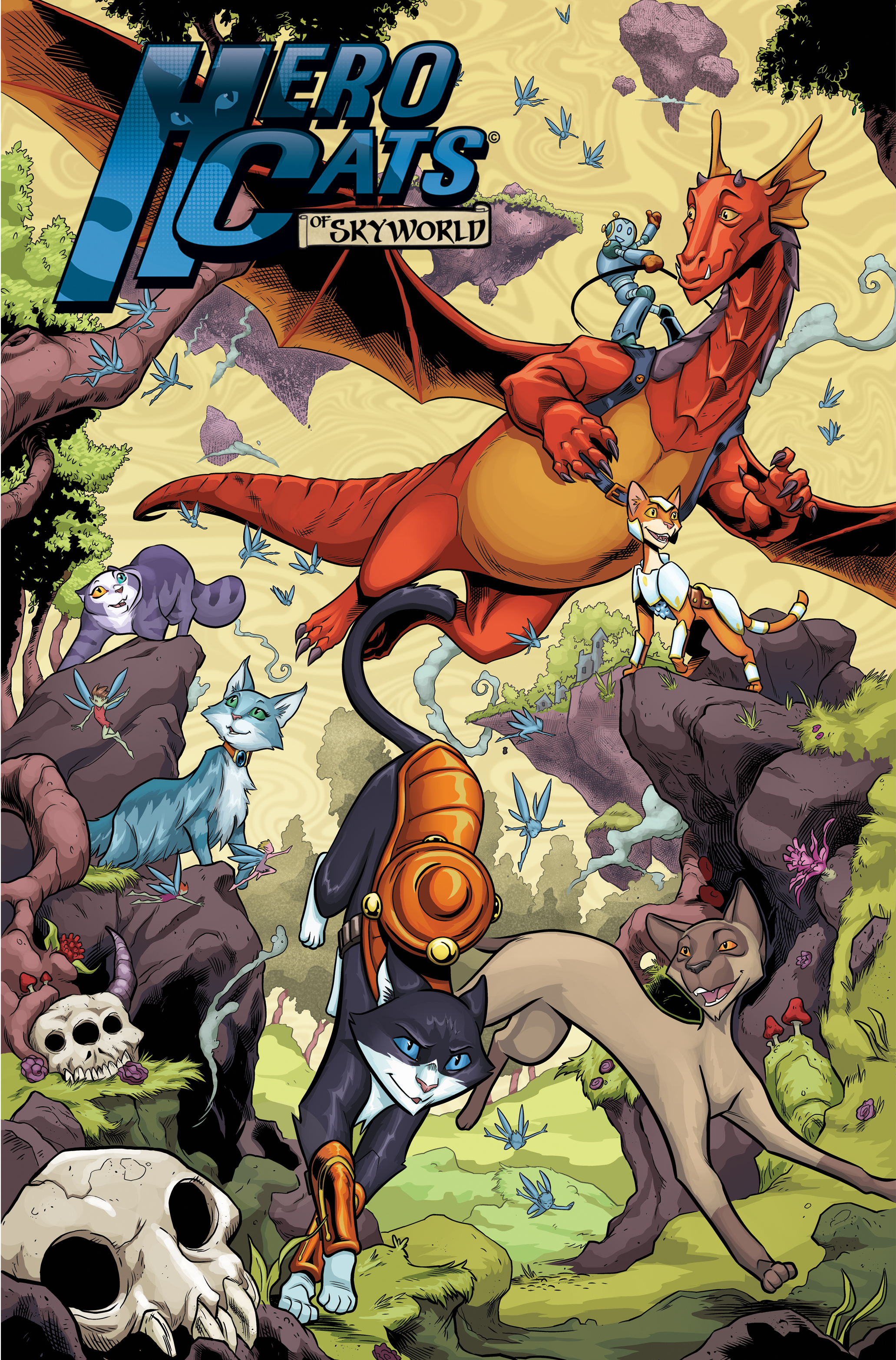 Hero Cats of Skyworld 6 TPB Cover