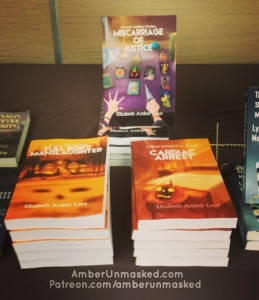 Farrah Wethers books on display