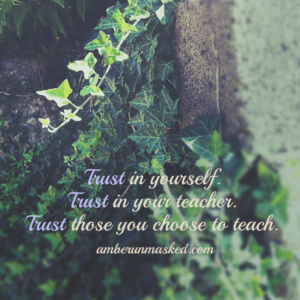 trust quote for yoga