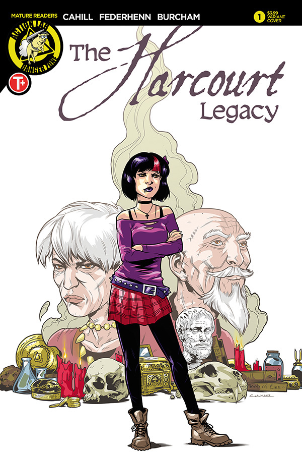 Harcourt Legacy #1 Cover B