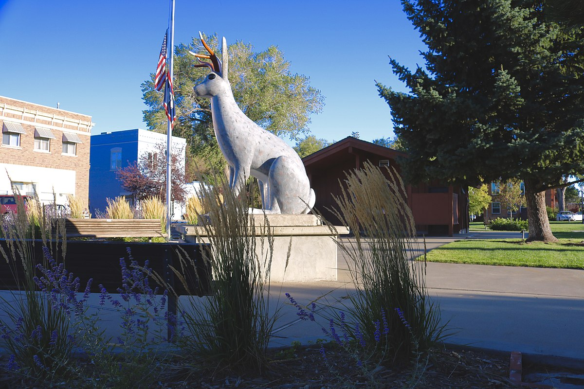 Jackalope Square Wyoming – By Montanabw CC BY-SA 4_0