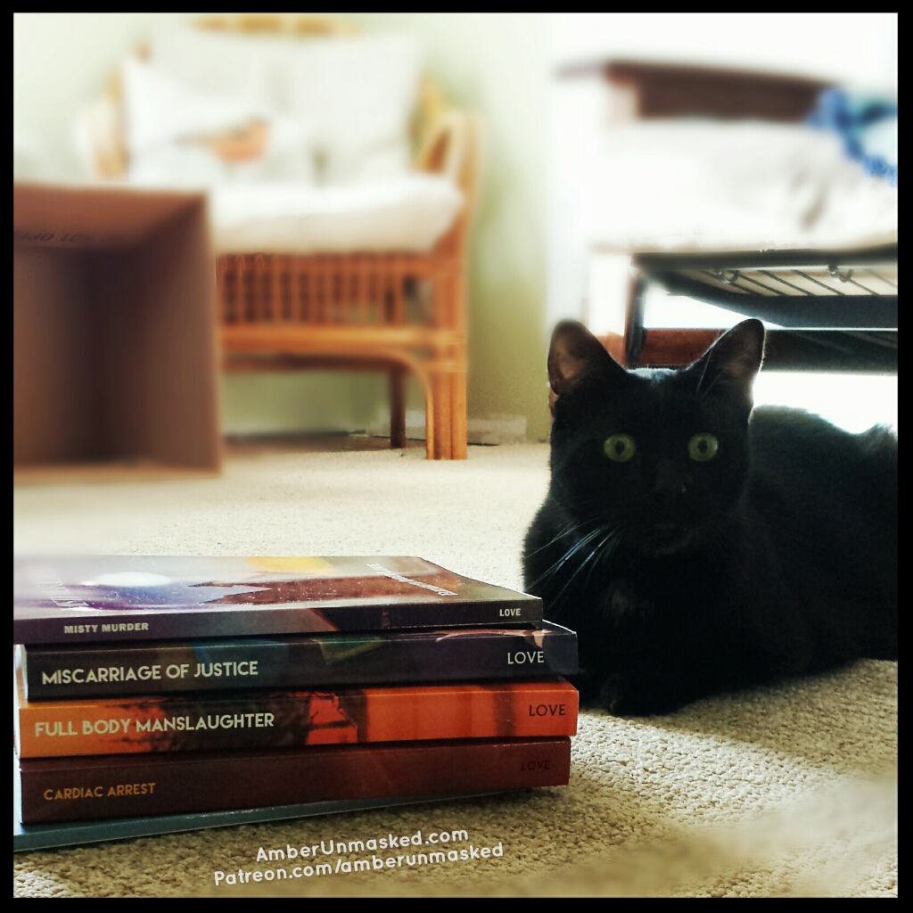 Gus with Books