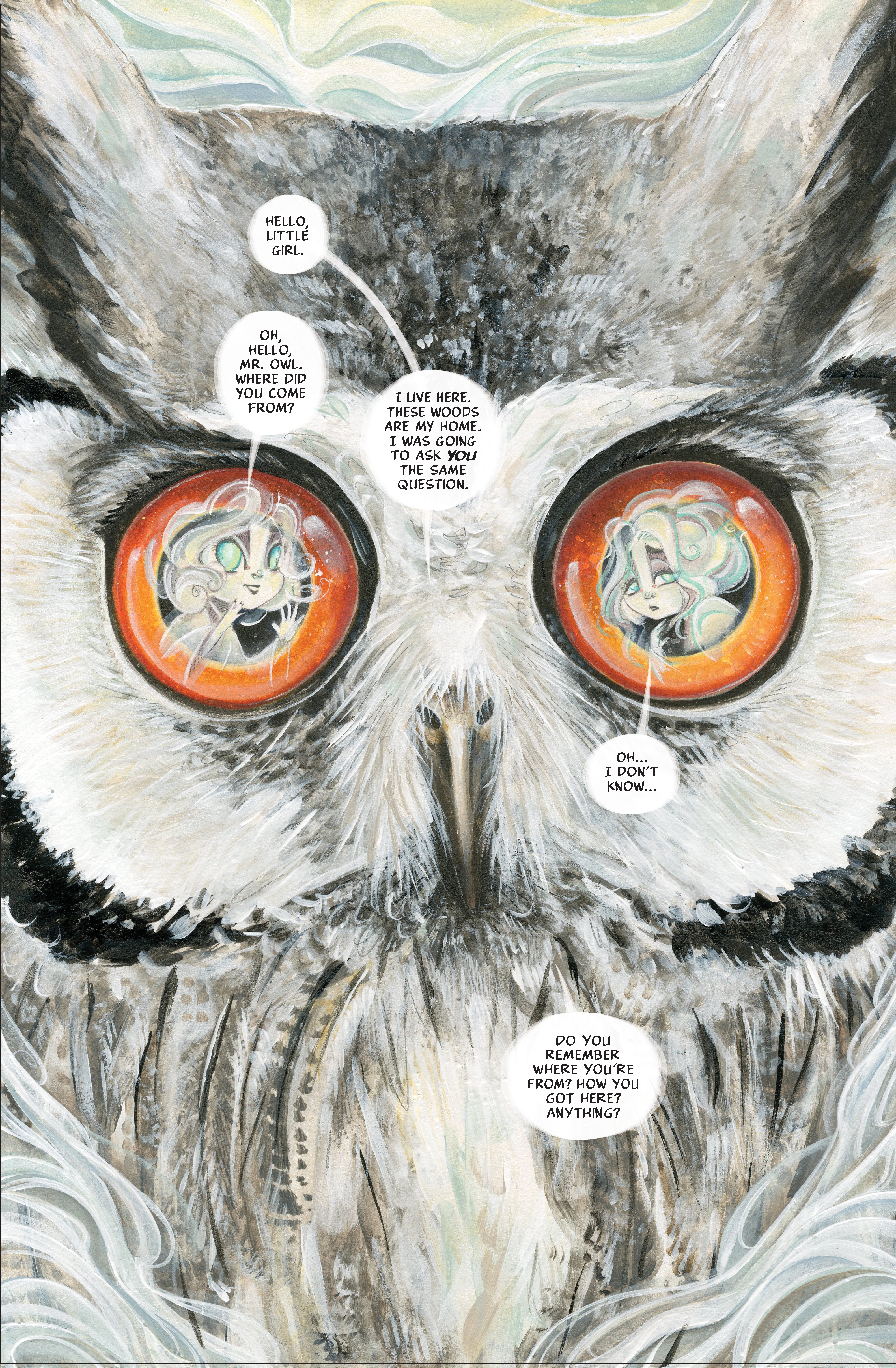 The Ghost The Owl page 4