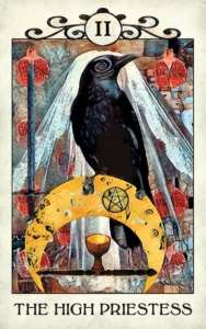 crow tarot the High Priestess