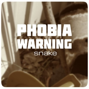 phobia warning snake