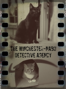 Gus and Oliver Winchester-Nabu Detective Agency graphic