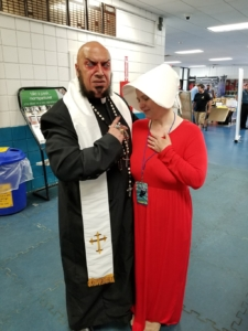 Father Evil and Handmaid Amber