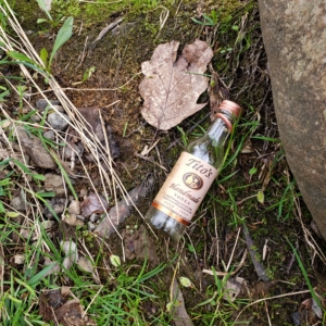 litter at the Musky River