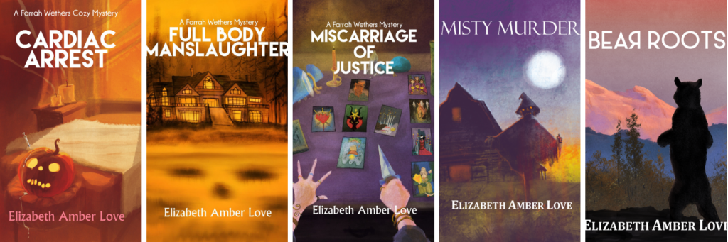 amber's main book covers